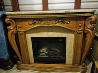 Aico fireplace with marble and  remote Chantilly, 20152