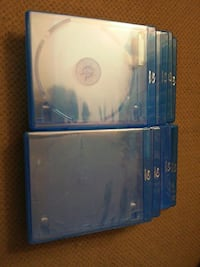 Used blu-ray disc cases. 2 disc. Parkville, 21234
