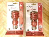 NEW two red CLF bulbs Nashville, 37209