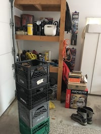 black and gray commercial refrigerator Kitchener, N2N 2W9