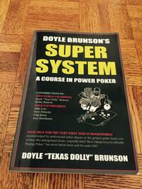 Doyle Brunson's Super System (Poker Book) Mississauga, L5L 5T6
