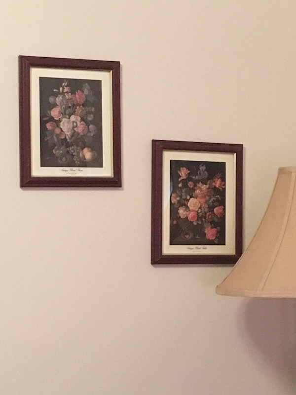 Home interior floral prints