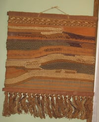 African Thick Weave Wall Tapestry CHICAGO