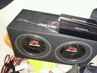 black and red subwoofer speaker Toledo, 43605
