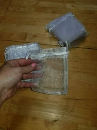 88 sheer white favor bags. Used for wedding Dixon, 61021