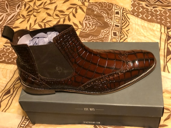 best service 25a46 cb340 Used Stacy Adams Frontera Croc Embossed Chelsea Boot for sale in Acworth -  letgo