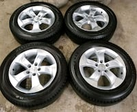 Honda rims and tires  Toronto, M6L 1A4