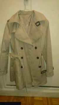 trench-coat croisé marron Paris, 75013