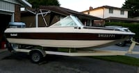 17 foot Bowrider with trailer