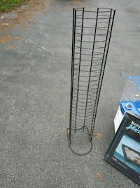 black metal 3-layer rack 290 mi
