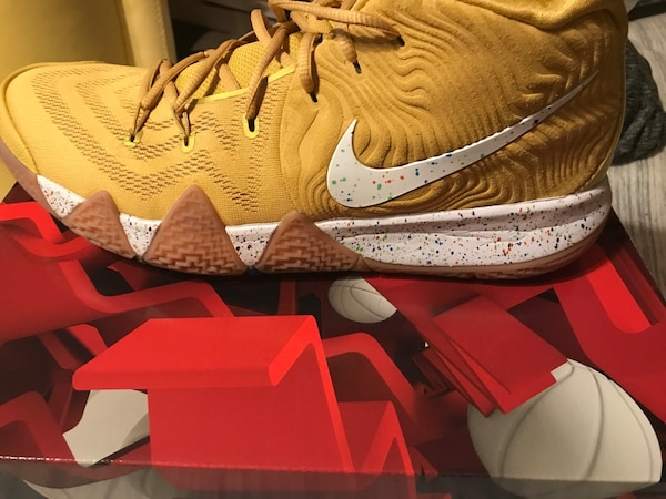 the latest 9c011 01b3f Kyrie 4 Cinnamon Toast Crunch size 13