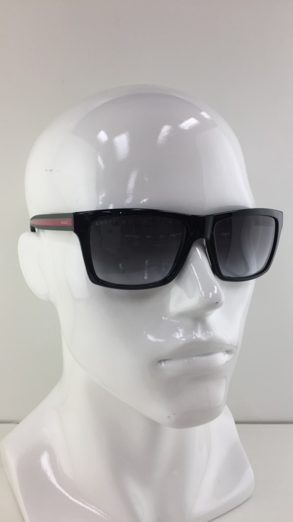 c291a063bff Used New Gucci GG 1013 S 51NPT Black Plastic Style Sunglasses for ...