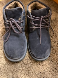 Size 10 blue navy uggs