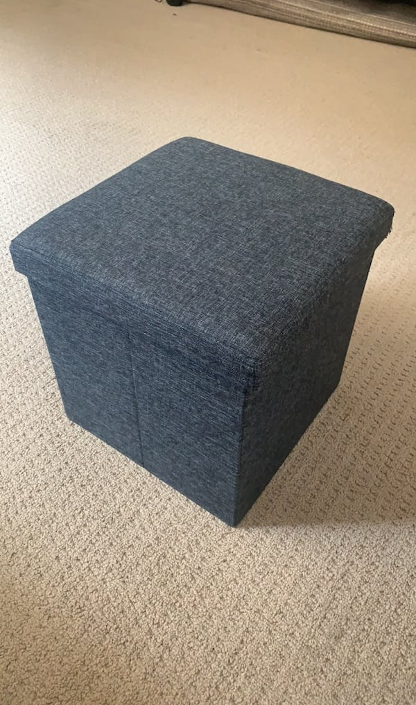 Foot Stool Storage Cube (2) 0
