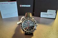 With Tags Wenger Men's 'Roadster' Swiss Quartz Vaughan