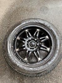 "4 rims with tires (20"") Brampton, L6S 1W3"