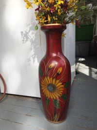 Beautiful Country Vase WASHINGTON