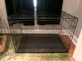 MidWest Medium Large Wire 2-Door Dog Crate