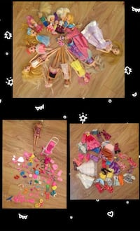 Barbie dolls and clothes, plus accessories  Toronto, M1H 3H3
