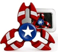 Metal Captain America Spinner-NEW London, N5W 3P3