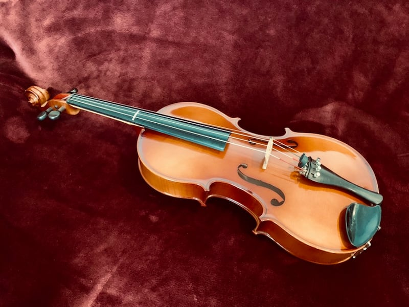 "Viola 4/4, 16.5"" with luxury case 1"