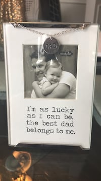"""""""Dad"""" picture frame"""