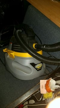 black and yellow wet and dry vacuum cleaner Moncton, E1C 7W6