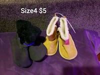 Gently use  girls shoes size4 Bakersfield, 93311