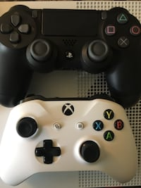 Xbox one and PS4 controllers WASHINGTON