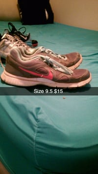 pair of pink Nike running shoes McMinnville, 37110