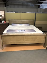 King Pillow top mattress set and sleigh bed - Closeout - only one left Greenville, 29607