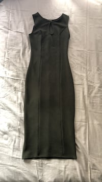 Fitted Cocktail Dress (Olive Green) Toronto, M1X 1S4