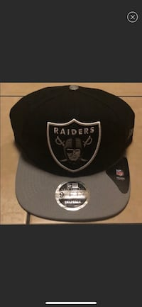 black and gray Oakland Raiders fitted cap screenshot 44 km