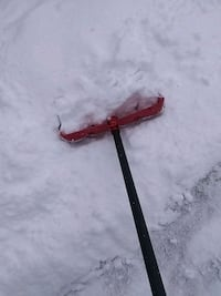 shoveling snow Erie