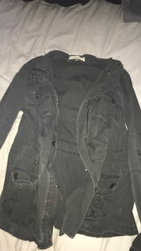 grey LIQUID X size SMALL womens army jacket Winnipeg, R3M 0Z3