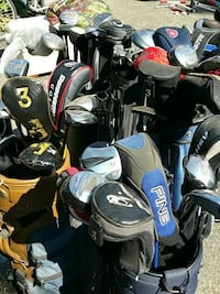 Golf Clubs, Callaway, Taylor Made, Ping, etc