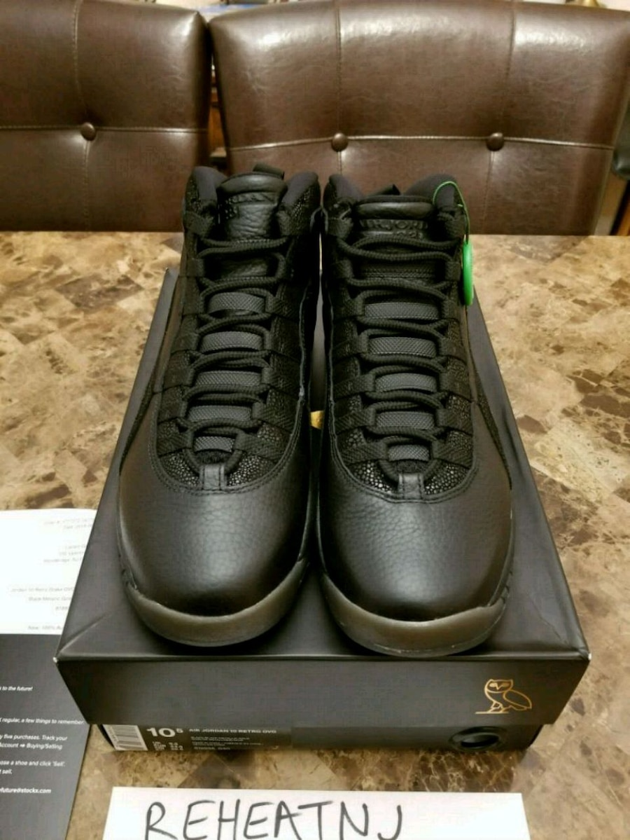 separation shoes 4de90 fce4f norway air jordan 10 ovo for sale used 820d8 89345