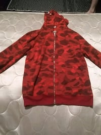 Red champions bape sweater  Oshawa, L1J 6J2