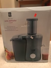 black and gray Breville juice extractor box Port Coquitlam, V3C 3H7