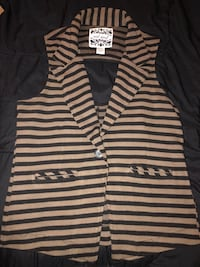 white and black striped polo shirt Capitol Heights, 20743