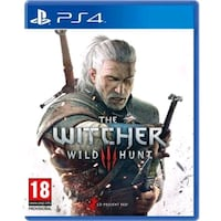 PS 4 The witcher 3 wild hunt oyun Akhisar