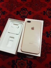 Rose Gold iPhone 8 Plus   with box 538 km