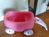 Step to small wagon for baby dolls Odenton