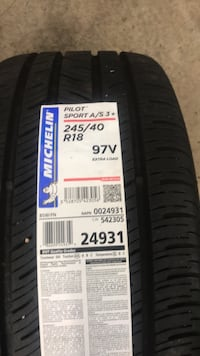 black auto tire with tire Burke, 22015