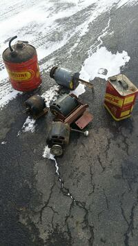 metal containers and alternators