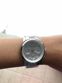 Women's Silver Michael kors watch