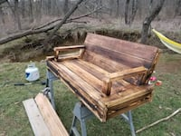 Custom over sized swing made out of sturdy lumber 258 mi