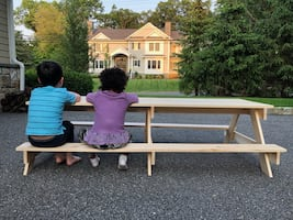 Kid-sized Picnic Table