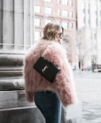 REAL FUR BOMBER COAT Toronto