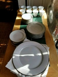China dish set. (McCurdy's) setting of 8 Fairport, 14450